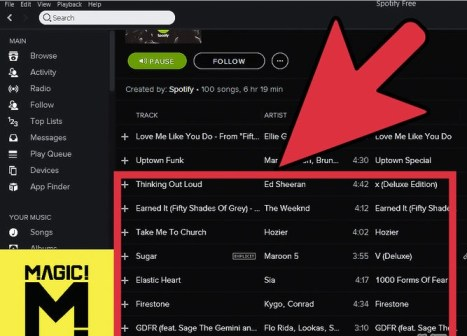 spotify music hack proof