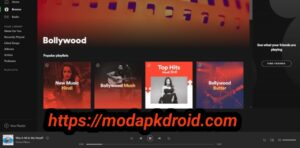 Spotify Mod Apk Bollywood Music