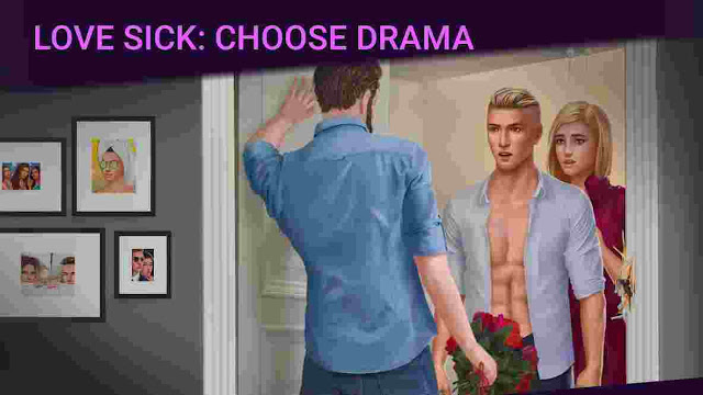 Screenshots of Love Sick: Love story game Mod Apk V1.53.1 (Unlimited Diamonds, Keys)