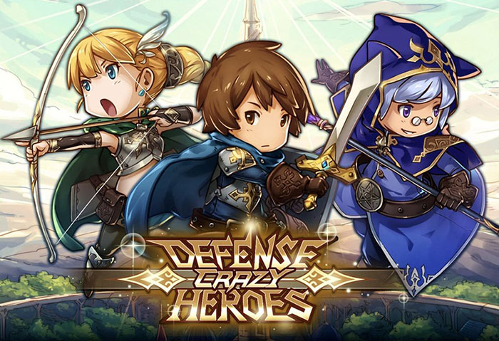 Crazy Defense Heroes Tower Defense Strategy Apk