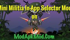 Mini Militia In-App Selector Mod on ModApkModCom