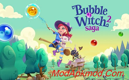 Bubble Witch Mod Apk