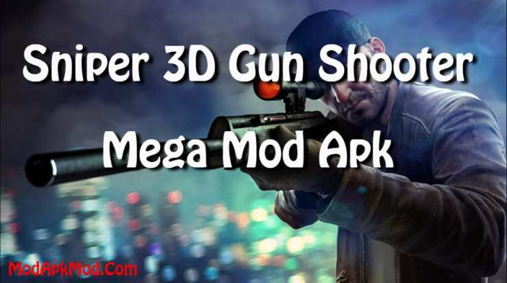 sniper 3d gun shooter mega mod apk
