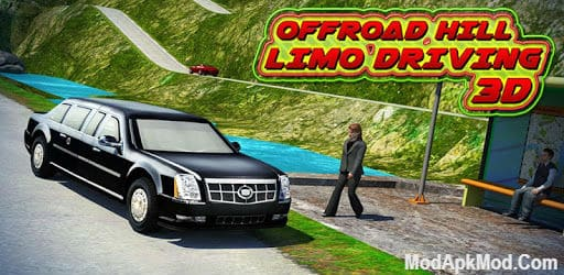 Offroad Hill Limo Driving 3D Mod Apk