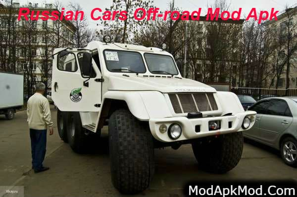 Russian Cars Off-road Mod A