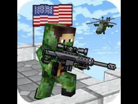 American Block Sniper Survival Mod Apk