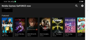 Nvidia games android