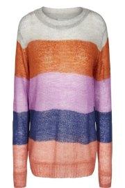 Jersey amplio de rayas en colores de Nümph.