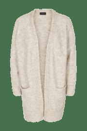 Freequent. Chaqueta de lana y mohair con suave tacto.