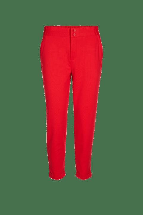Freequent. Pantalón de punto en color rojo.