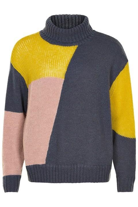Jersey de colores en punto de Nümph