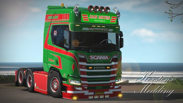 Jan Mues Next Generation Scania R650