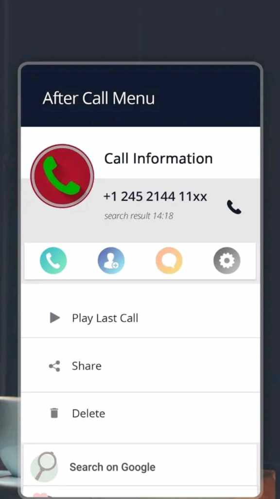 automatic call recorder pro screen3