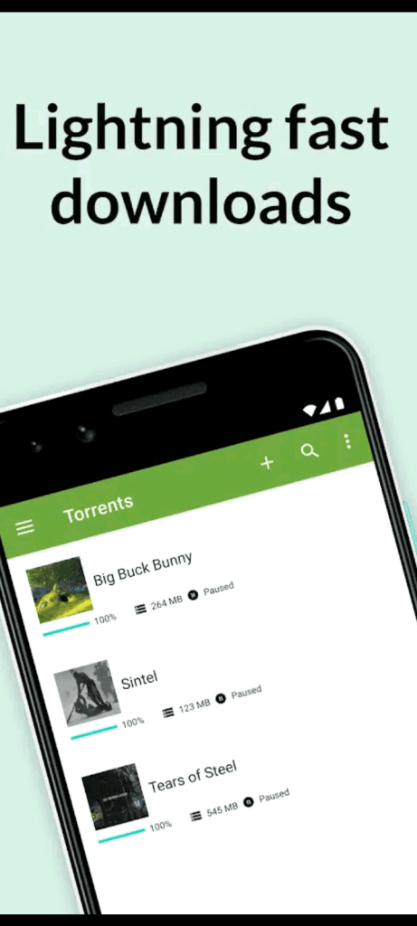 utorrent pro apk screen1