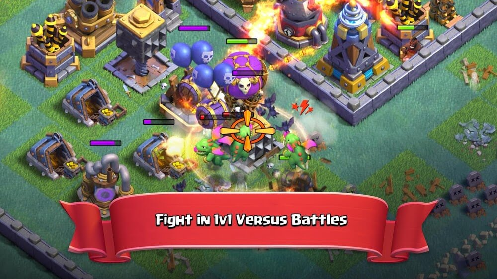 Clash of Clans (MOD, Unlimited All)