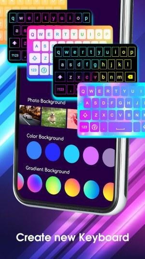 Neon LED Keyboard Premium Mod Apk Free Download