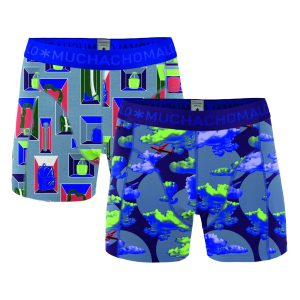 Muchachomalo boxershorts 2-pack Life Is A Journey-XXL