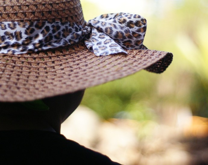 Luipaardprint Hoed