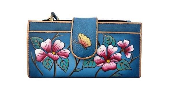 Niarvi Midnight Blue (flap) Wallet