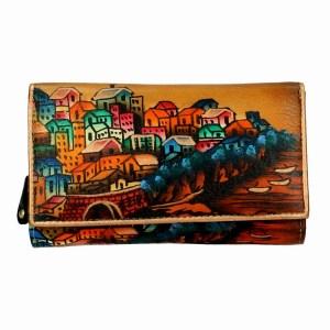 Niarvi Sisley Village Brown Wallet