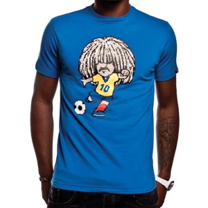 COPA Football - Carlos T-shirt - Blauw