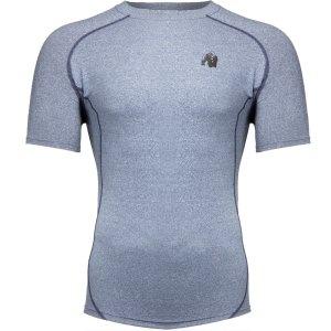 Bodybuilding T-Shirt Mannen Lichtblauw - Gorilla Wear Lewis