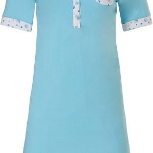 Turquoise dames nachthemd Pastunette