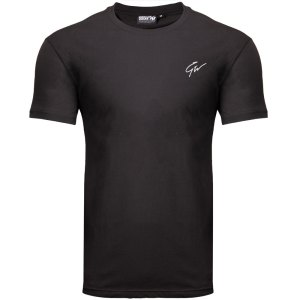 Bodybuilding T-Shirt Mannen Zwart - Gorilla Wear Cody