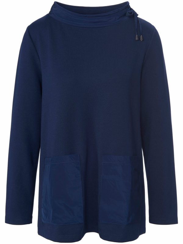 Sweatshirt lange mouwen Van DAY.LIKE blauw