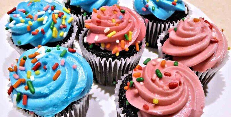 Muffin Süßigkeiten Cupcake