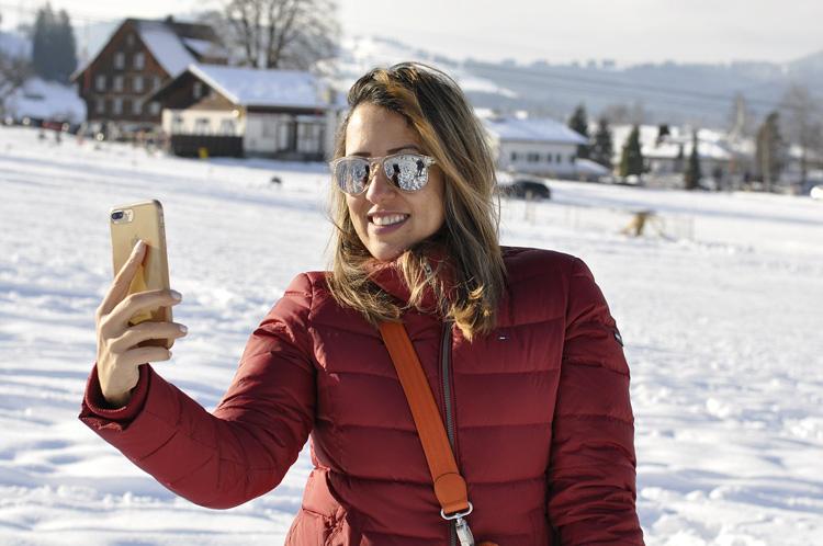 Smartphone Selfie Sonnenbrille