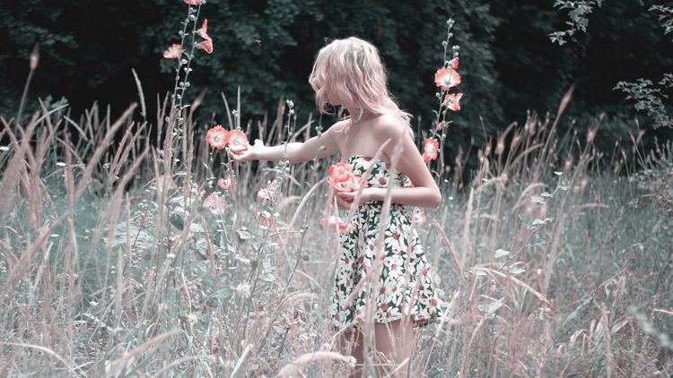 Frau Blumenwiese Kleid
