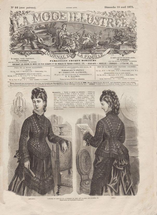 mode illustrée 1875 N16