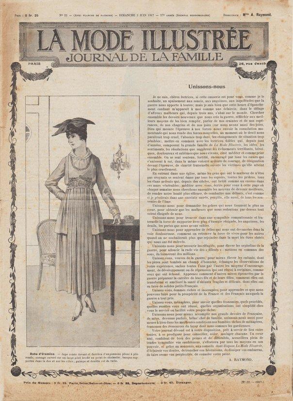 corset de forme nouvelle 1917