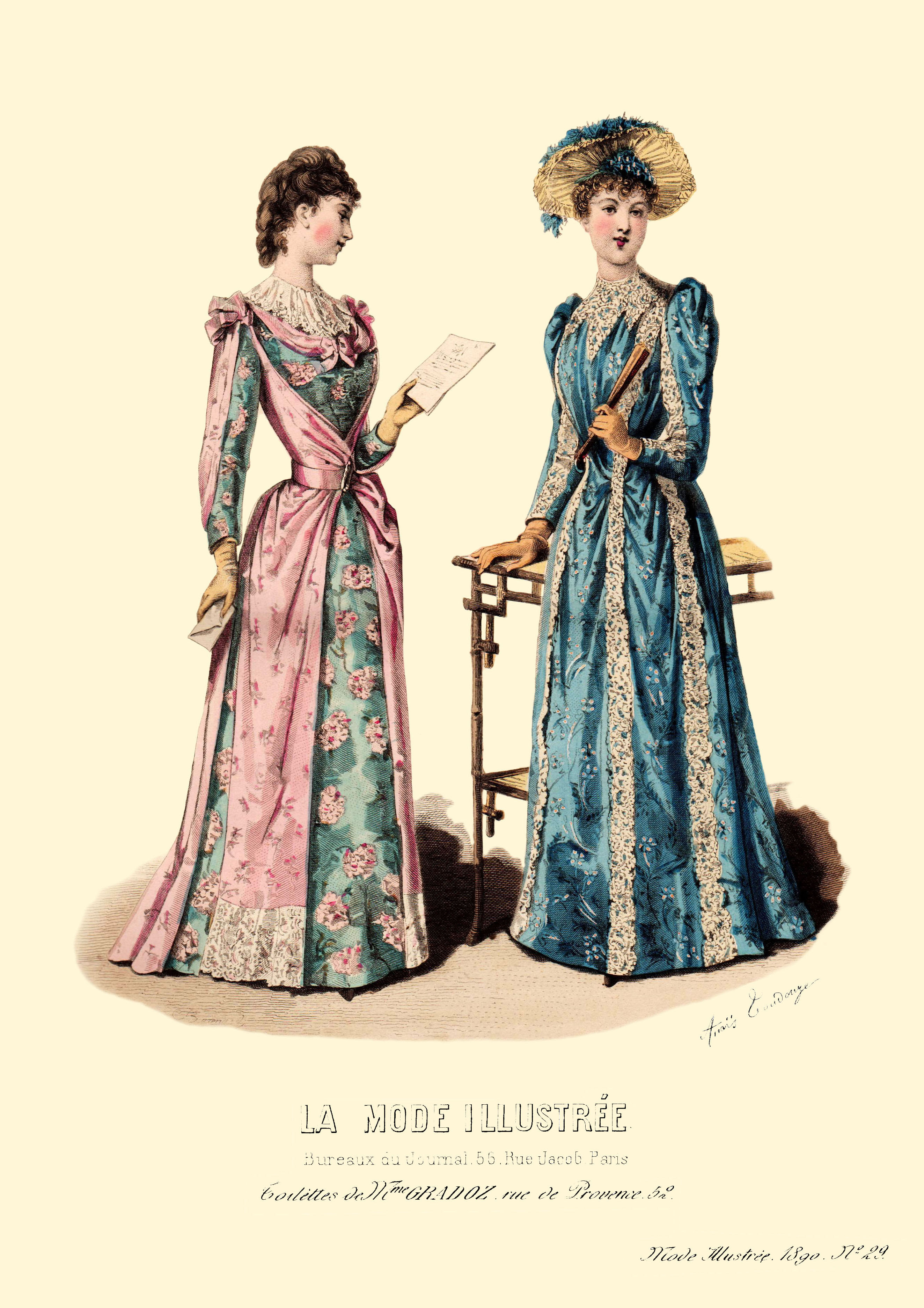 patrons couture 1890