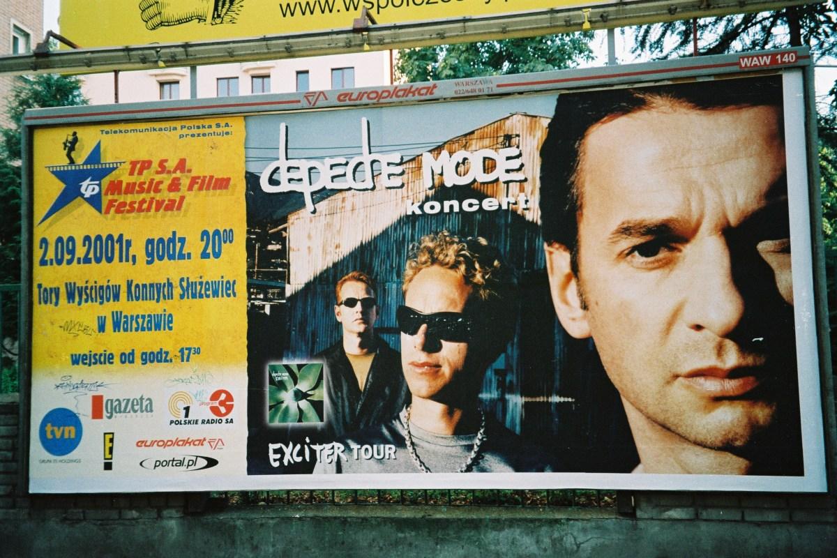 Koncert w Warszawie 2001.09.02 - logistyka i parę ciekawostek.