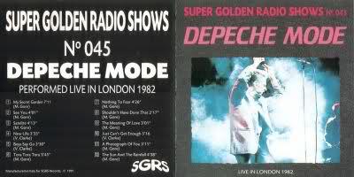 depeche MODE// 1982.10.25 Londyn