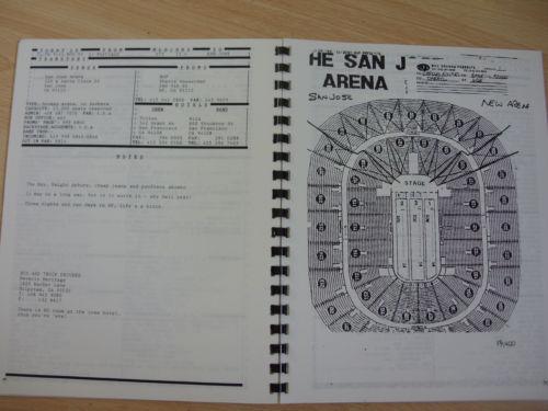 Specyfikacja San Jose Arena.