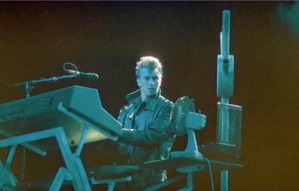 Alan Wilder live. USA 1986