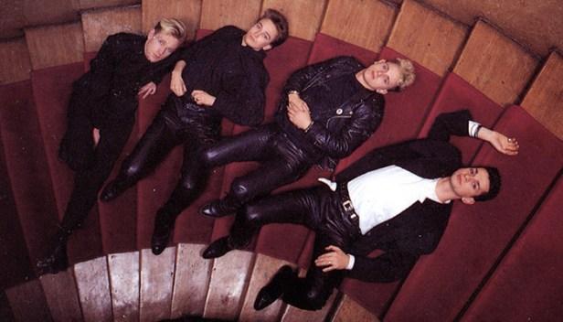 depeche MODE w Hansa Studio, 1986.