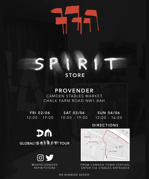 Spirit Pop-Up Store w Londynie