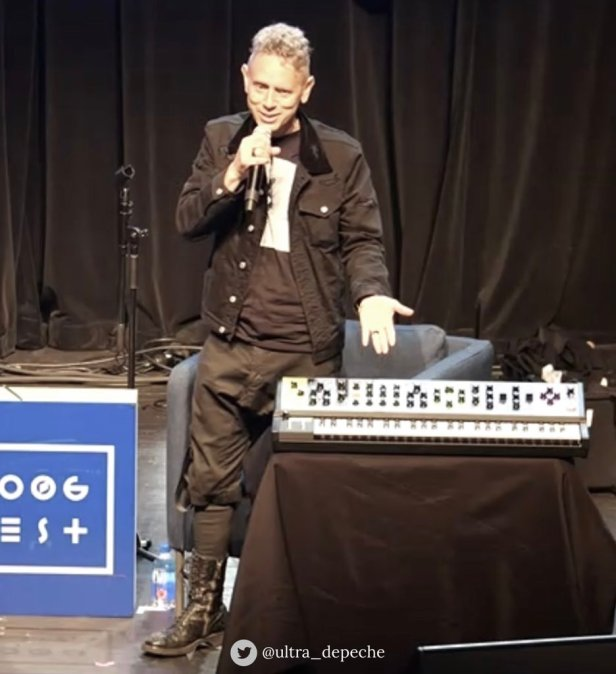 Martin Gore na Moog Festiwal 2019.