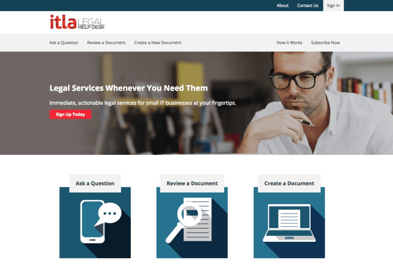 SaaS WooCommerce development site for ITLA