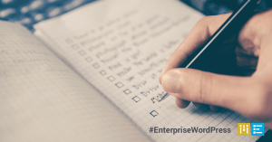 checklist-enterprise-wordpress-partner