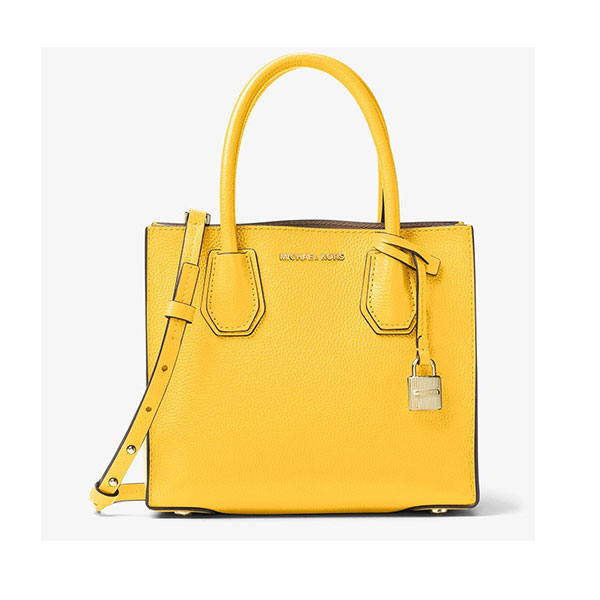 michael kors yellow handbag