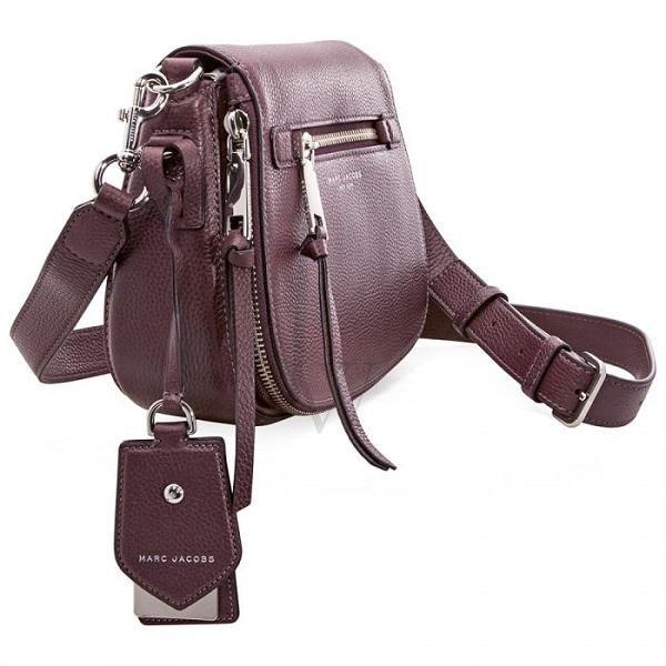 6c8d307f3 HomeHandbagsShoulder BagMarc Jacobs – Recruit Nomad Small Saddle / Shoulder  Bag – Purple. -40%. Zoom