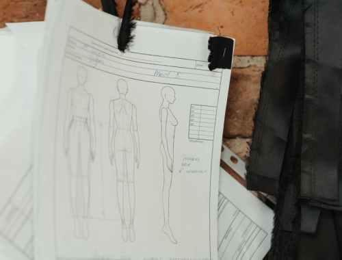 Technische Zeichnungen für dein Modelabel