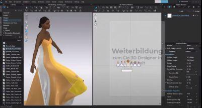 CLO 3D Kurs 3D Fashion Designer