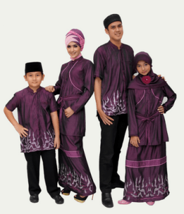 trend-baju-muslim-batik-sarimbit-couple-keluarga-terbaru