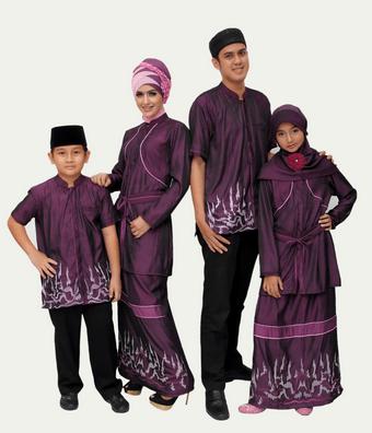 Model Baju Muslim Ayah, Ibu dan Anak Terbaru